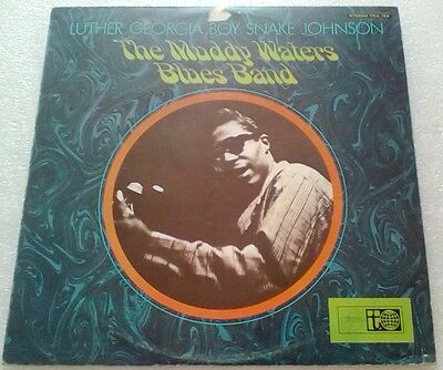 Luther Georgia Boy Snake Johnson. The Muddy Waters Blues Band. Vinyl LP. A1/B1
