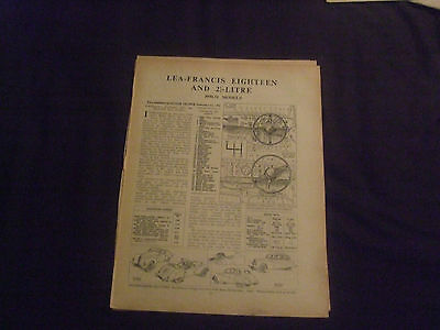 Lea-Francis Eighteen & 21/2 Litre 1950-51 Models Service Guide
