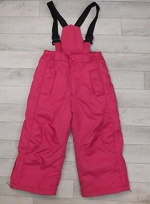Rothschild Pink Ski Snow Winter Trousers For Girls 3-4 Y