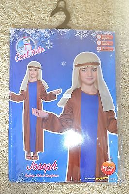 Boys Joseph Costume Approx Age 10-12 by Smiffys