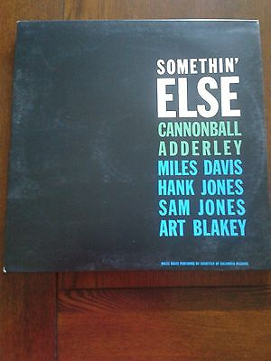 Cannonball Adderley With Miles Davis - Somethin' Else - Blue Note Lp Like New