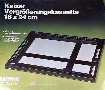 KAISER 4000 18x24 cm Masking Frame - Top Quality Darkroom Accessory - Boxed