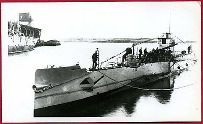 1924 Submarine S-22 SS-127 Reproduction Real Photo