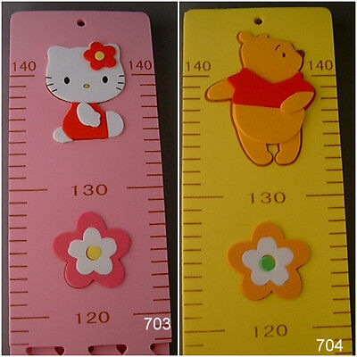 Hello Kitty, Winnie the Pooh Children's Height Chart, growth