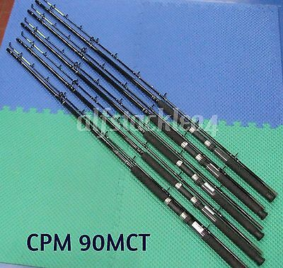 Okuma Classic Pro 9 ft Chartreuse Tip Trolling Rods 5 Pack CPM 90MCT
