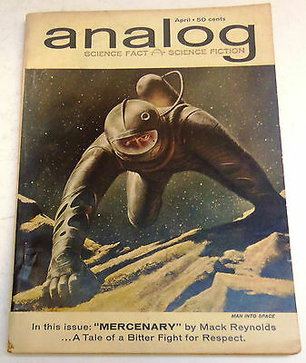 Analog Science Fact & Science Fiction - US Digest – April 1962 – Vol.49 No.2