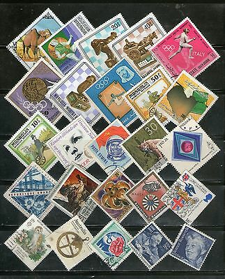 25 Diff. Large  Commemo. Topicals, Diamond-Shaped, Fu, # 2