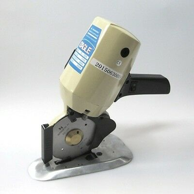 "Eagle Model EL-100A 4"" Round Knife Electric Fabric Cutting Machine Cloth Cutter"
