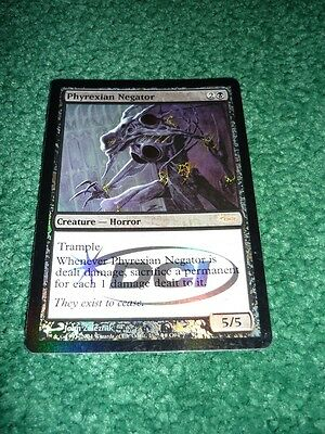 Magic the Gathering Mtg DCI Foil Judge Promo PHYREXIAN NEGATOR