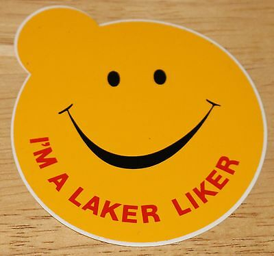 "Old Laker Airways (UK) ""I'm a Laker Liker"" Airline Sticker"