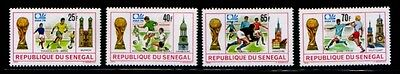 SENEGAL World Cup 1974 in Germany MNH set