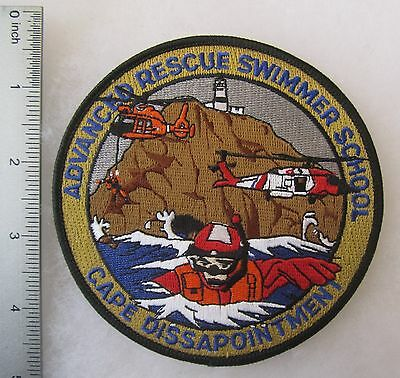 Uscg Patch Us Coast Guard Adavnced Rescue Swimmer School Cape Dissapointment