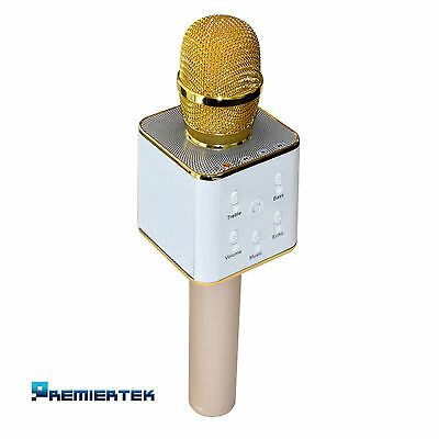 Q7 Wireless Karaoke Microphone KTV Player Bluetooth iPhone/Samsung iOS Android