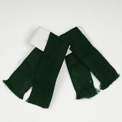 Kids Plain Green Sock Flashes 4 Sporrans & Kilts cubs scouts