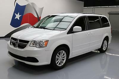 2016 Dodge Caravan  2016 DODGE GRAND CARAVAN SXT STOW N GO PWR DOORS 18K MI #328432 Texas Direct