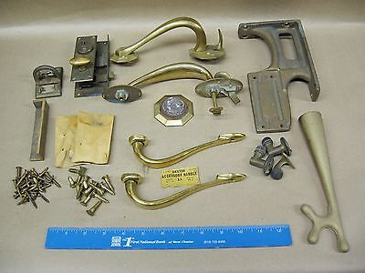 Vintage Solid Brass Bronze Hardware and Fasteners