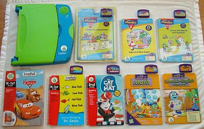 Leap Frog LeapPad Learning System Pre-K - 2nd Grade Ages 4-7 Phonics Reading+