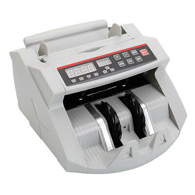 New Money Bill Currency Counter Counting Machine Counterfeit Detector Cash UV MG