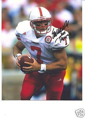 Nebraska Cornhuskers Heisman Eric Crouch Signed Photo