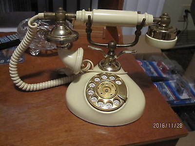 Vintage Victorian Style Rotary Phone