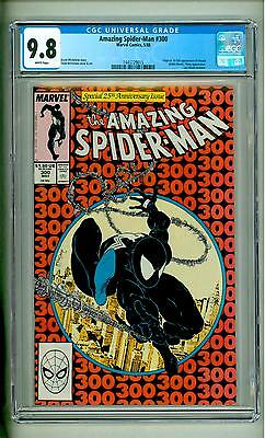 Amazing Spider-Man #300 Cgc 9.8 White Pages Venom