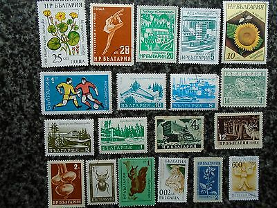 Collection/mixture Of Bulgaria Stamps