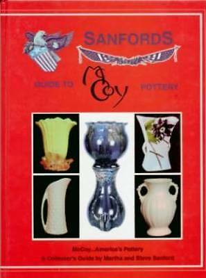 2 BOOK SET Sanfords McCoy Pottery ID Book & Field Guide