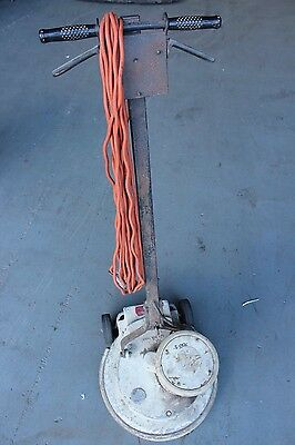 Clarke Crompton Parkinson Vintage Floor Polisher with Pads Discs - As Is