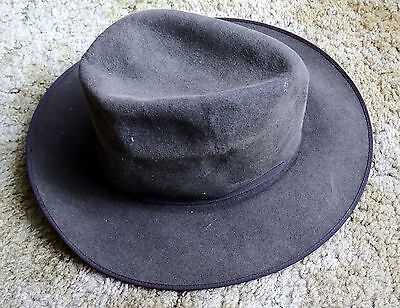 Vintage Stetson Open Road  Hat Size 55  Nice  Collectable Needs A Reshape