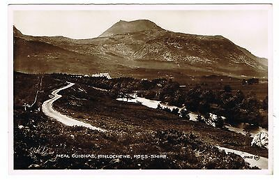 Real Photo Postcard - Meal Guibhas Kinlochewe - Ross-shire Scotland