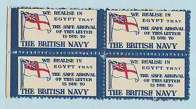 The British Navy - We Relise In Egypt - Cinderellas