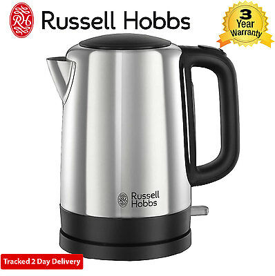 Russell Hobbs 20610 Canterbury Kettle with 1.7L Capacity and 3000W in Brushed