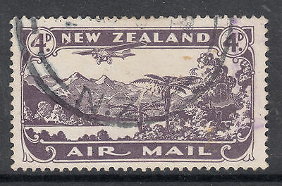 NEW ZEALAND  1931 4d Air Fine Used