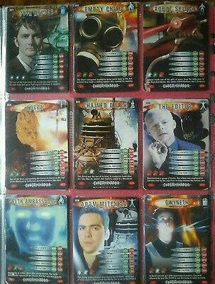 Doctor Who, Battles In Time Trade Cards
