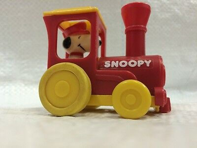 Snoopy Figure Driving A Train 1959
