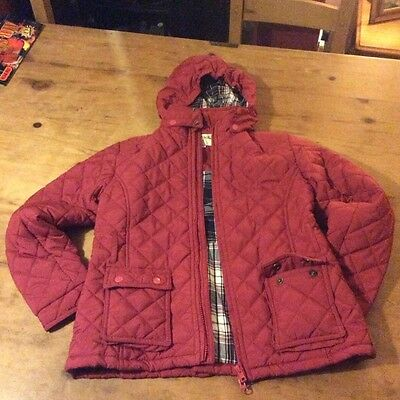 girls coat harry hall horse riding 9/10 yrs good condition