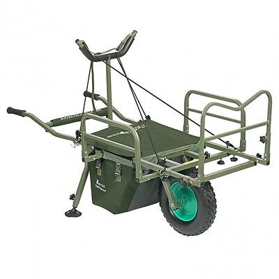 NEW Prestige Carp Porter MK2 Puncture Proof Fishing Barrow - 2014 Model