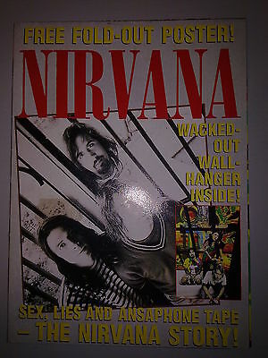 Nirvana - Fold-Out Poster The History - Uk