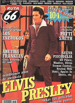 RUTA 66 MAGAZINE 185 July 2002 ELVIS PRESLEY PATTI SMITH ARETHA FRANKLIN - SPAIN