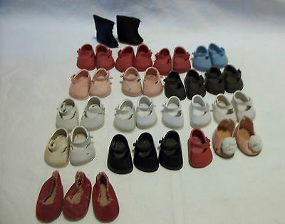 16 Pairs Vogue Marked Ginny Doll Shoes Madame Alexander
