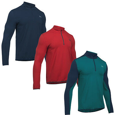 Under Armour Mens Coldgear Storm Midlayer Half Zip Top - New Ua Golf Pullover