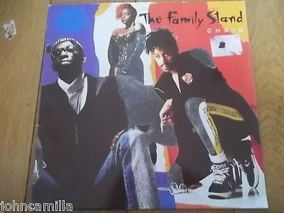 """The Family Stand - Chain 12"""" Record / Vinyl - Atlantic - Wx 349"""