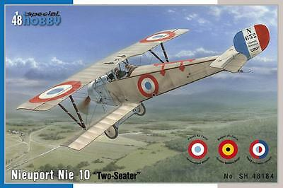 """SPECIAL HOBBY 48184 Nieuport Nie 10 """"Two Seater"""" in 1:48"""