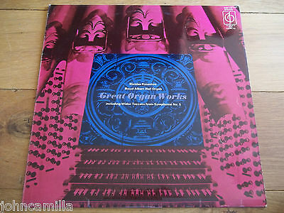 Nicolas Kynaston - Great Organ Works - Lp - Classics For Pleasure - Cfp 170