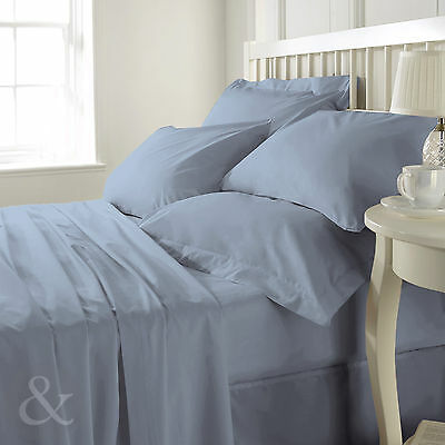 Luxury 100% Egyptian Cotton 200 Thread Count Fitted Sheet – Bed Linen Sheet