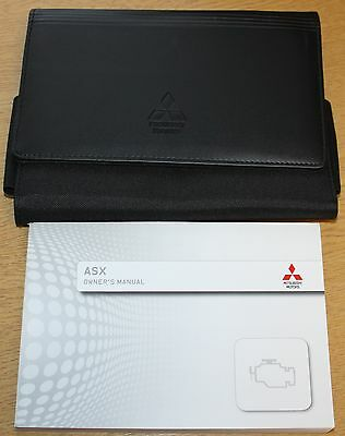 Mitsubishi Asx Handbook Owners Manual Wallet 2012-2016 Pack 2868