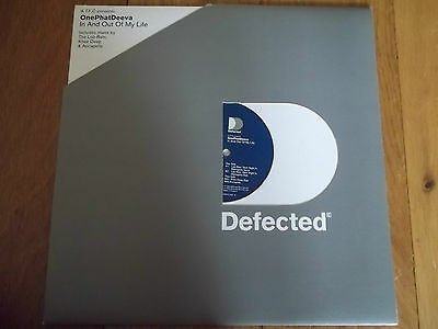 """A.t.f.c Presents - Onephatdeeva - In And Out Of My Life 12"""" Record - Defected"""