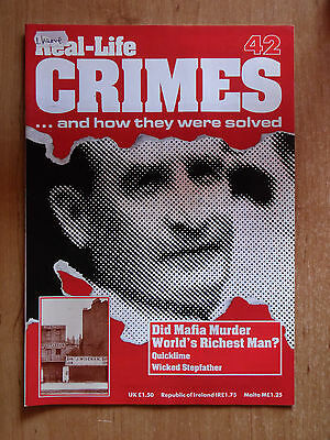 Real-Life Crimes Magazine No.42 Did Mafia Murder Sir Harry Oakes?