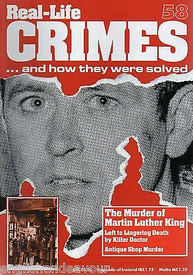 Real-Life Crimes Magazine No.58 The Murder of Martin Luther King