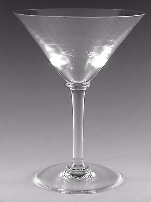 """BACCARAT Crystal - Clean Design - Martini Glass / Glasses - 6"""""""